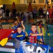 Things to do with kids: Weekend Fun for LA Kids: Cardboard Regatta, Grandes Maestros, Fiesta La Ballona August 29 -30