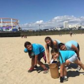 Things to do with kids: Weekend Fun for LA Kids: Coastal CleanUp, Museum Openings, and Gumby September 19 - 20