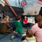 Homeschool Day at the USS Constitution Museum