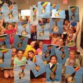 Things to do with kids: Paint-Your-Own Canvas Studios for Kids in the Philly Area