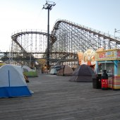 Things to do with kids: Boardwalk Bunkdown at Morey's Piers