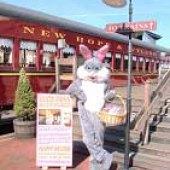 New Hope/Ivyland RR: Easter Bunny Express