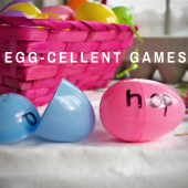Things to do with kids: Make Fun Learning Games with Leftover Easter Eggs