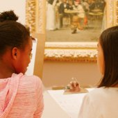 Family Day at the Davis: Paint + Canvas