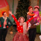 Things to do with kids: Celebrate Christmas Fancy Nancy-Style in Vital Children's Theatre's New Kids' Musical