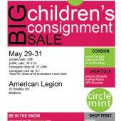BIG Children's Consignment Sale