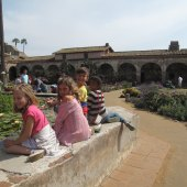 Things to do with kids: Mission San Juan Capistrano: Family Day Trip & 4th Grade Project