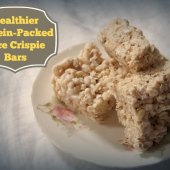 Things to do with kids: Easy After-school Snacks: Healthier Protein-Boosted Rice Crispies Treats