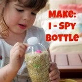 Things to do with kids: Make: An I Spy Bottle for Your Next Road Trip