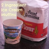 Things to do with kids: WeeWork Recipe: 2-Ingredient Ice-Cream Muffins