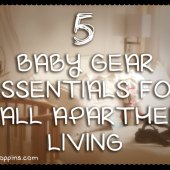 Things to do with kids: 5 Baby Gear Essentials for Living With Baby in a Small One Bedroom Apartment