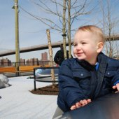 Things to do with kids: Photos of the New Pier 1 Playground at Brooklyn Bridge Park