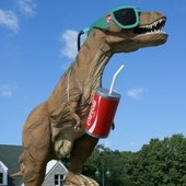 Things to do with kids: Day Trip: Travel Back In Time at The Dinosaur Place in Oakdale Connecticut