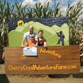 Things to do with kids: Enjoy a Fall Weekend Getaway of Family Fun at Cherry Crest Adventure Farm