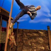 Things to do with kids: Boom Town: Traditional Circus Acts Set in the Wild West