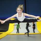 Things to do with kids: Get Kids Jumping at Bounce! Trampoline Sports