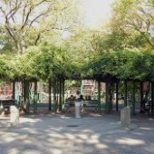 Things to do with kids: NYC Playgrounds with Shade: Shady Park Benches and Equipment