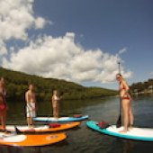 Things to do with kids: Stand Up Paddleboarding in Fairfield County