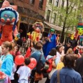 Things to do with kids: Tribeca Film Festival for NYC Kids: Family Street Fair and Other Free Fun