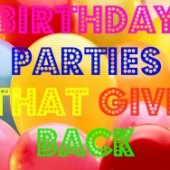 Things to do with kids: Kids' Parties with a Purpose: Host a Volunteering Birthday Bash That Gives to Those in Need