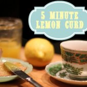 Things to do with kids: WeeWork Recipe: 5 Minute Lemon Curd