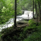 Things to do with kids: Easy Waterfall Hikes in the Poconos for Families