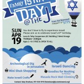 Family Israel Day at JCC MetroWest