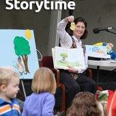 Storytime at Morris Arboretum
