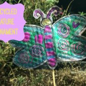 Things to do with kids: WeeWork Kids Crafts: Recycled Nature Ornaments