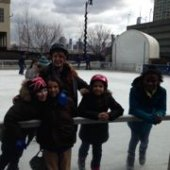 Things to do with kids: Ice Skating in NJ: Newport Skates