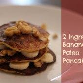 Things to do with kids: WeeWork Kids Recipe: 2 Ingredient Paleo Banana Pancakes