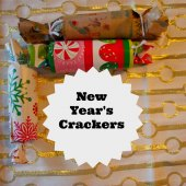 Things to do with kids: Kids Craft: Making New Year's Crackers