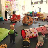 Things to do with kids: Drop-In Play Spaces: 13 Indoor Spots for Toddlers with Weekend Hours