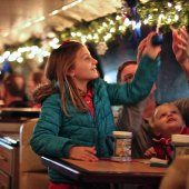 Things to do with kids: Saratoga & North Creek Railway Polar Express: No-Car Santa Train Getaway