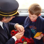 Things to do with kids: All Aboard The Polar Express: Christmas Trains Near Boston