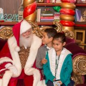 Things to do with kids: DreamWorks North Pole Adventure at Westchester's Ridge Hill: Find Santa with Shrek's Help in this Immersive Holiday Experience