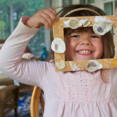 Things to do with kids: Memory Frame Craft with Little Elliot