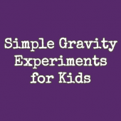 Things to do with kids: WeeWork Activity: Try a Fun and Simple Gravity Experiment for Kids