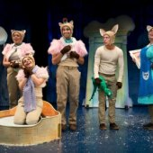Things to do with kids: Free Family Musical Skippyjon Jones Snow What Is a Perfect Little Kid Theater Experience