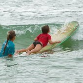 Things to do with kids: Surf NYC: Surfing Lessons for Kids at Rockaway Beach