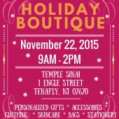 Temple Sinai Holiday Boutique