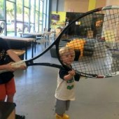 Things to do with kids: Indoor Tennis for NYC Kids: 10 Programs with Youth Lessons & Family Play