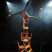 Things to do with kids: Traces: NYC Kids Will Want to Jump Up and Join These Awesome Acrobats