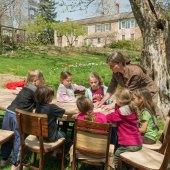Homeschool Family Arbor Day Program