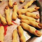 Things to do with kids: Halloween Witch's Finger Cookies Recipe for Your Halloween Party or Bake Sale