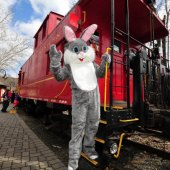 Things to do with kids: Hop Aboard the Easter Bunny Express: Train Rides for Kids Near Philly