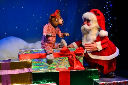 The Three Bears Holiday Bash at the Swedish Cottage Marionette Theatre
